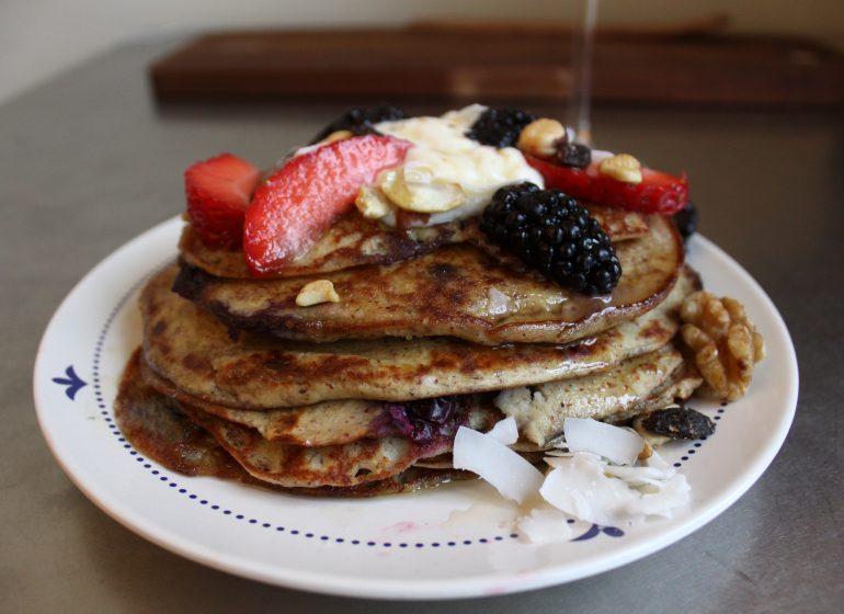 Pancakes fără gluten/ Mic dejun / Lili Sandu