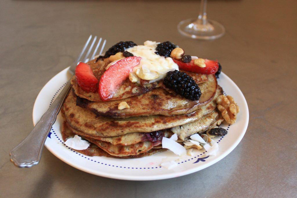 Gluten Free Pancakes / Mic dejun / www.lilisandu.ro