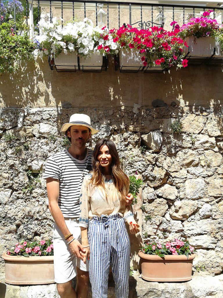 Vacanță în Sudul Franței / Eze / Lili Sandu & Silviu Tolu