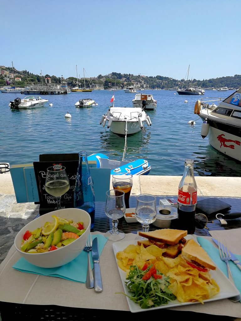 Lunch in Villefranche / Travel with Lili Sandu