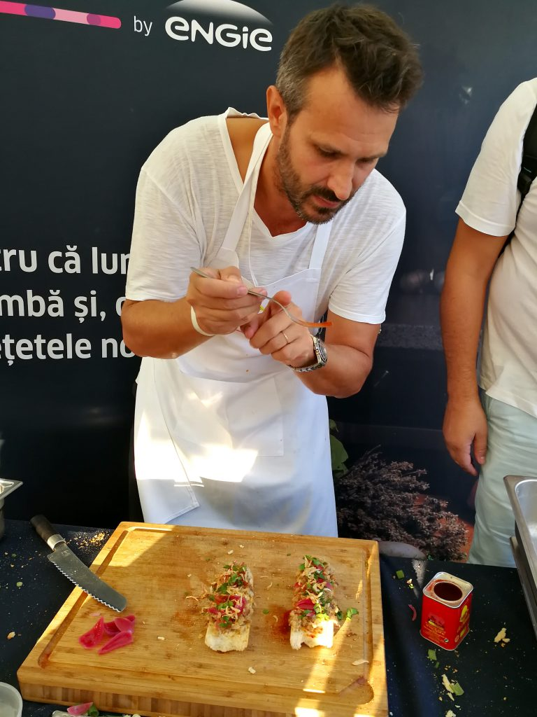 Nicolai Tand @ bucharest street food festival
