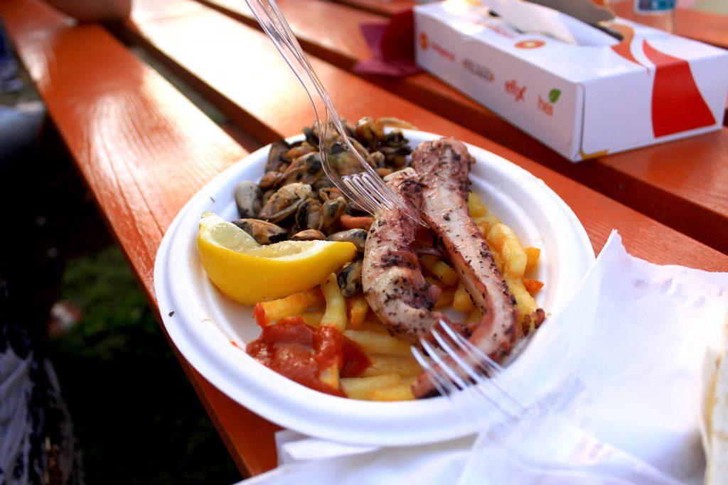 Seafood @ Street Food Carnival / by Silviu Tolu for www.lilisandu.ro