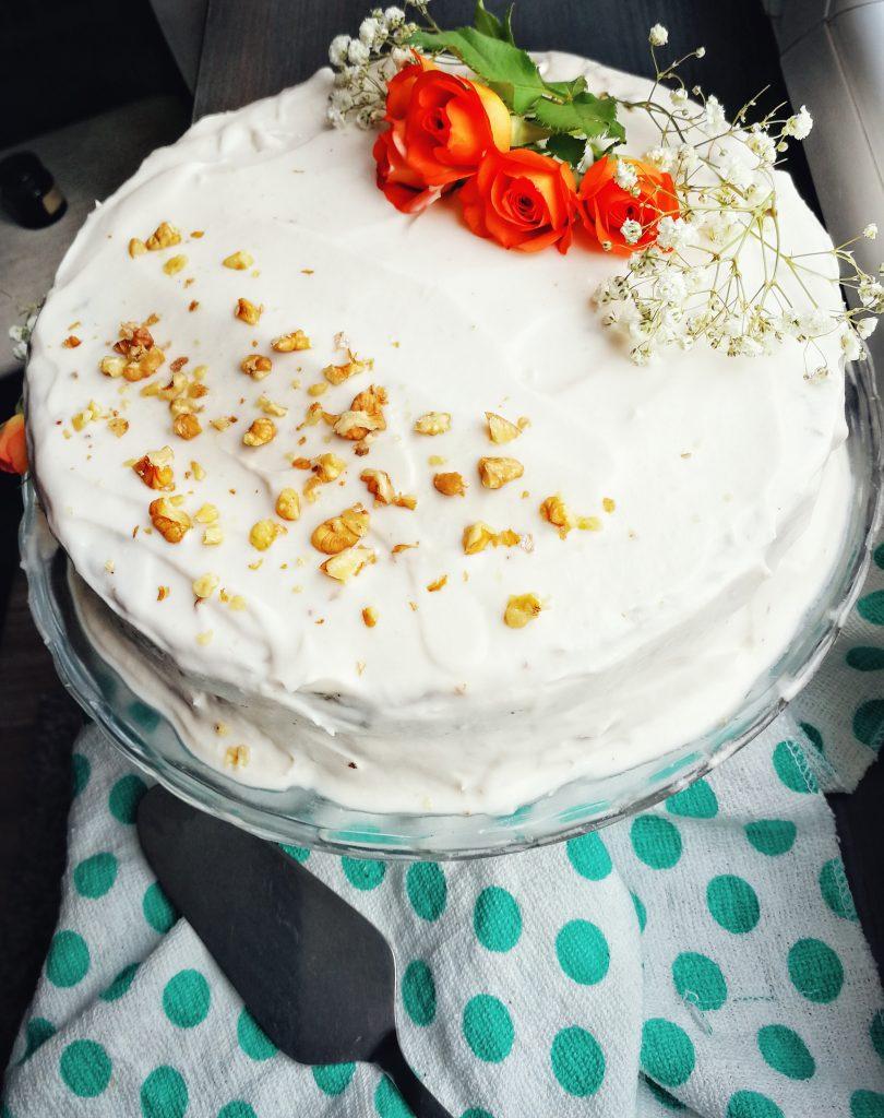 Tort de morcovi vegan și fără gluten / Rețete by Lili Sandu