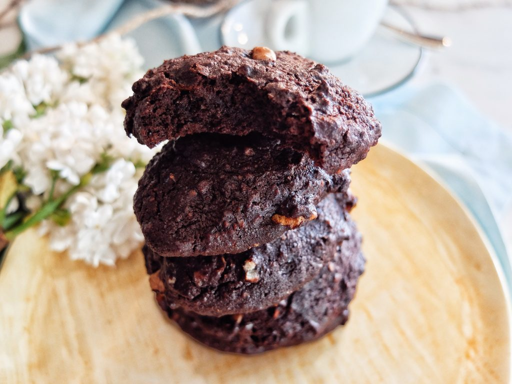 Chocolate cookies vegane - by Lili Sandu