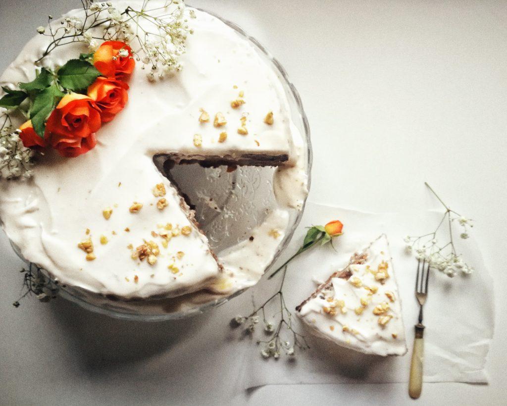 Tort de morcovi vegan și fără gluten by Lili Sandu