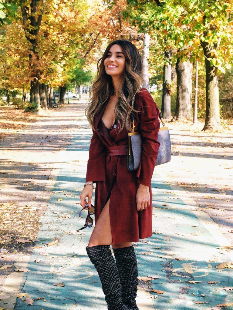 Sfârșit de toamnă - Outfit of the day by Lili Sandu